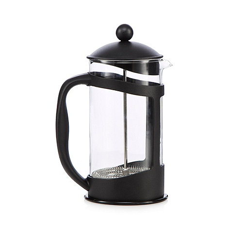 Debenhams - Glass +Best Buy+ 8 cup cafetiere