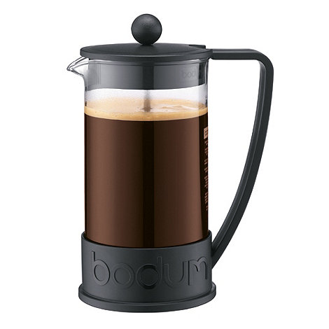 Bodum - Black 'Brazil' eight cup coffee maker