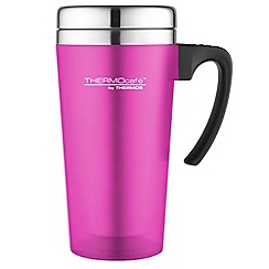 Thermos - Thermocafe pink 'Zest' travel mug