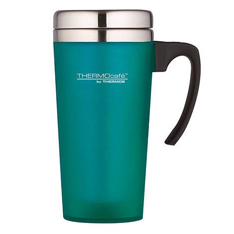 Thermos - ThermoCafe aqua +Zest+ travel mug