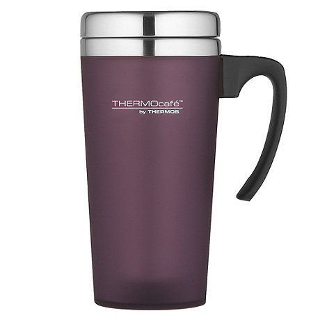 Thermos - ThermoCafe purple +Zest+ travel mug