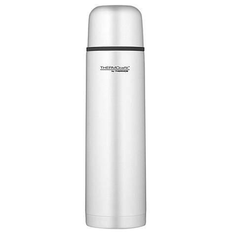 Thermos - ThermoCafe stainless steel 1l flask