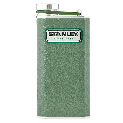 Stanley - Stainless steel green Classic 0.23l pocket flask