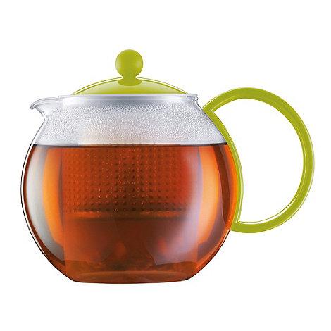 Bodum - Lime +Assam+ glass teapot