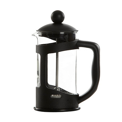 Home Collection Basics - Glass and plastic three cup cafetiere