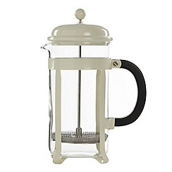 Home Collection Basics - Cream large eight cup cafetiere