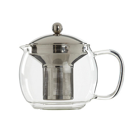 Debenhams - Glass 1.2L teapot