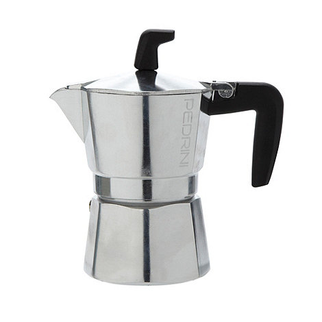 Pedrini - Aluminium 3 cup coffee pot
