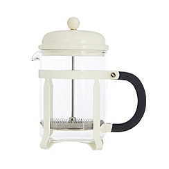 Home Collection Basics - Cream four cup cafetiere