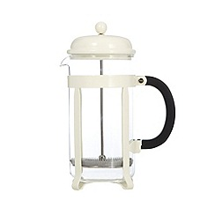 Home Collection Basics - Cream eight cup cafetiere