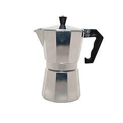 Ching He Huang by Typhoon - Aluminium 'Living' six cup espresso maker