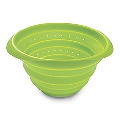 Lekue - Silicone green collapsible colander
