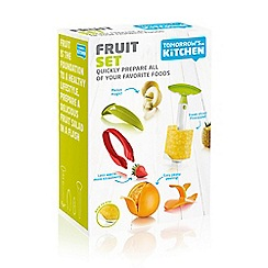 Tomorrows Kitchen - Collection of fruit preparation tools and gadgets