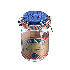 Kilner - Blue 'Union Jack' 1L jar with ceramic lid