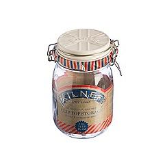 Kilner - Cream 'Union Jack' 1L jar with ceramic lid