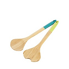 Ben de Lisi Home - Bamboo salad servers