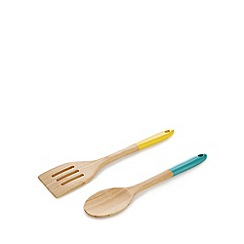 Ben de Lisi Home - Bamboo spatula and spoon utensil set