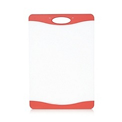 Home Collection Basics - Red plastic chopping board