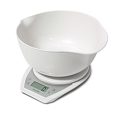 Salter - Electronic scale with dual pour mixing bowl