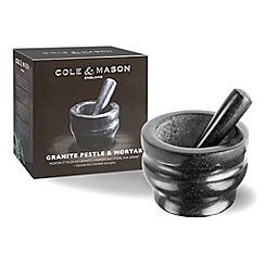 Cole & Mason - 14cm granite pestle & mortar