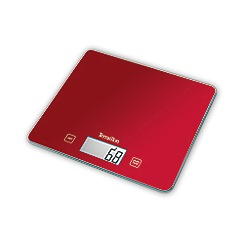 Hanson - Slim glass electronic kitchen scale with touch sensitive technology