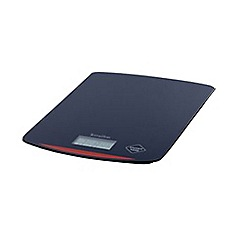 Hanson - Black slim kitchen scales