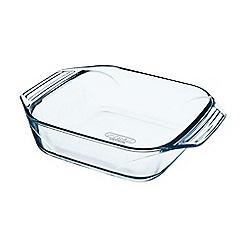 Pyrex - Glass 'Optimum' square roasting dish