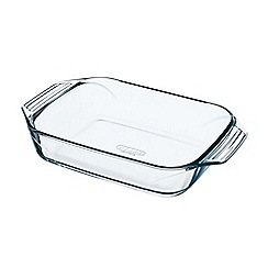 Pyrex - Glass 'Optimum' 39cm roasting dish