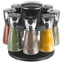 Cole & Mason - Hudson 8 jar spice carousel