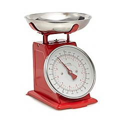 Home Collection - Red mechanical scale