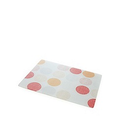 Home Collection Basics - Grey circles print kitchen board