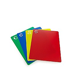 Home Collection - Set of four assorted flexible chopping boards