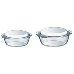 Pyrex - Set of 2 casserole dishes