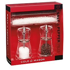 Cole & Mason - Napoli salt & pepper mill gift set