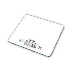 Hanson - White terrallon slim glass electronic scale T1040