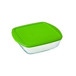 Pyrex - 'Cook and Store' 0.3L square storage dish