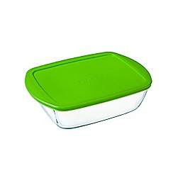 Pyrex - 'Cook and Store' 1.1L rectangular storage dish