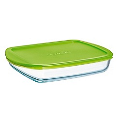 Pyrex - 'Cook and Store' 1.7L square storage dish