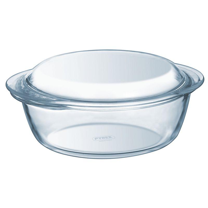 Pyrex Glass 2.3L round casserole dish