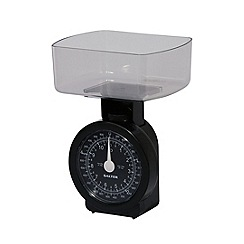 Salter - Compact mechanical scale black face 114