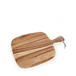 RJR.John Rocha - Brown 'Acacia' wood chopping board
