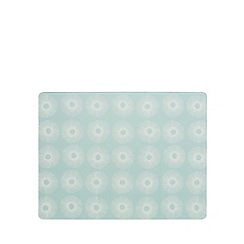 Home Collection Basics - Light blue floral print kitchen board