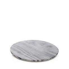 RJR.John Rocha - Grey marble trivet
