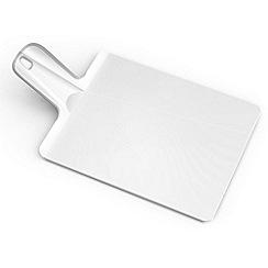 Joseph Joseph - Chop2Pot Plus small folding chopping board in white