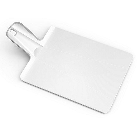 Joseph Joseph - Chop2Pot Plus small folding chopping board in white