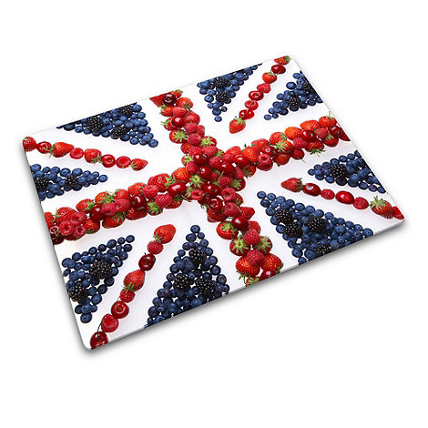 Joseph Joseph - Worktop Saver multi-purpose board with Union Jack design