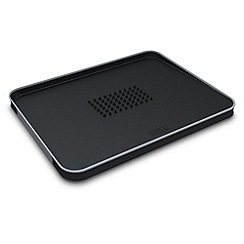 Joseph Joseph - Cut&Carve Plus large chopping board in black