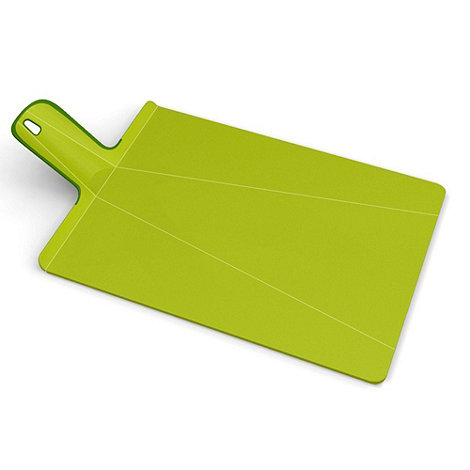 Joseph Joseph - Chop2Pot Plus large folding chopping board in green