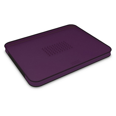 Joseph Joseph - Cut&Carve Plus large chopping board in purple