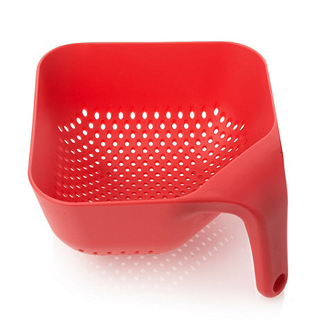 Joseph Joseph - Medium Square Colander in red